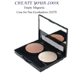 Magnetized Compact Case for eye shadow pans 2027E