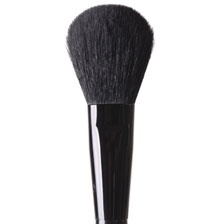 For a light, flawless application of loose or pressed powder.